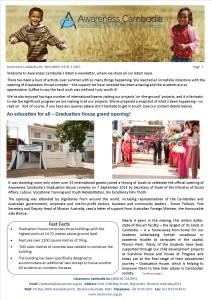 Newsletter Issue 1 2015 FINAL Full color
