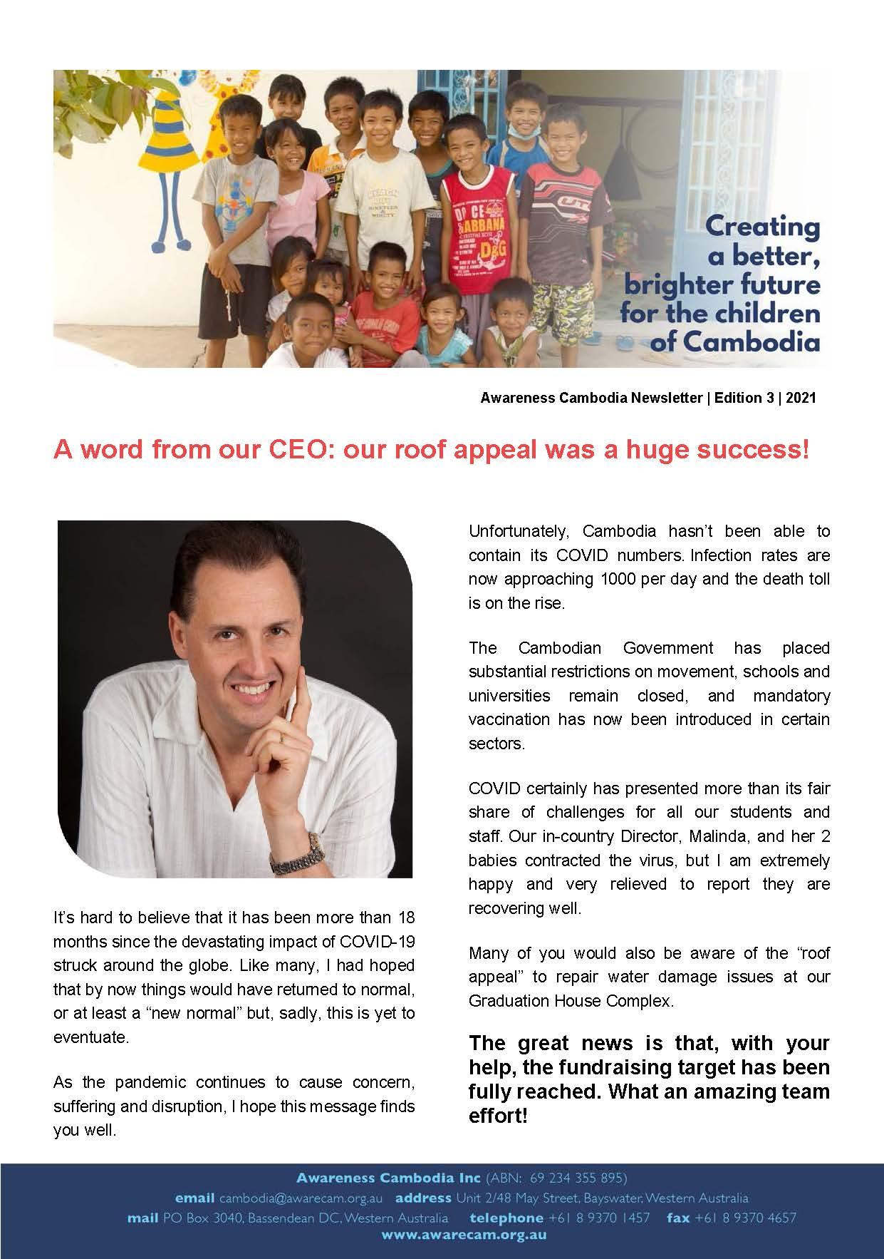 Awareness Cambodia - 2021 - Edition 3